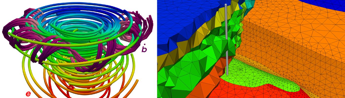 Finite-Elemente-Simulation transientelektromagnetischer Felder